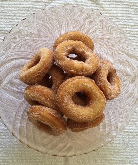 old-fashioned doughnuts