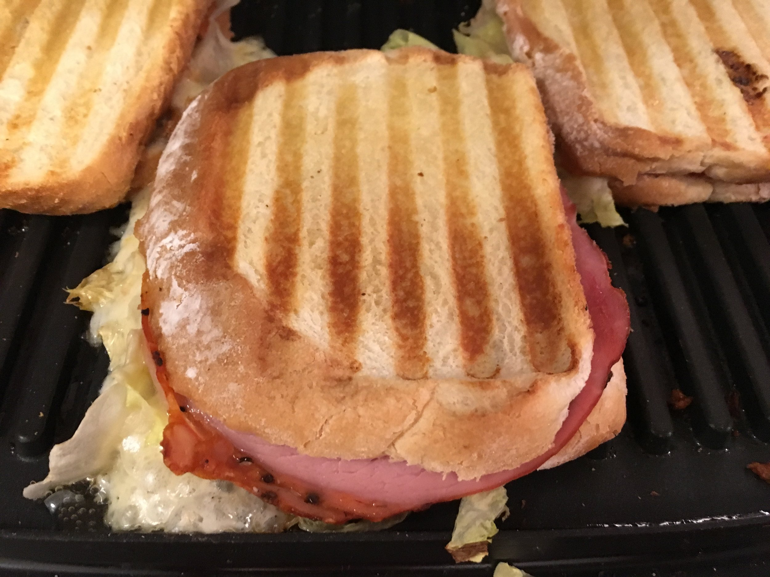 Grilled Cheese with Pastrami