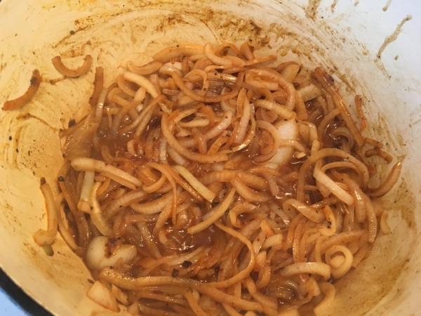 beef onion stew