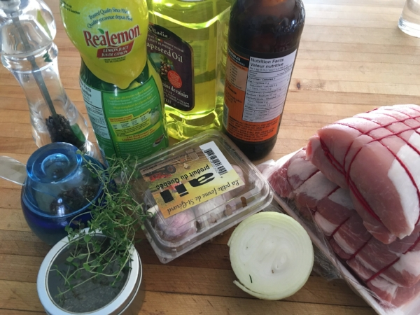 Greek Marinade for Meat