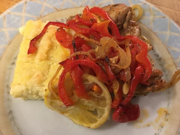 Lemond paprika Chicken