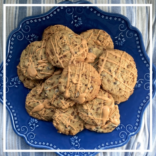 Skor & Chocolate Chip Cookies