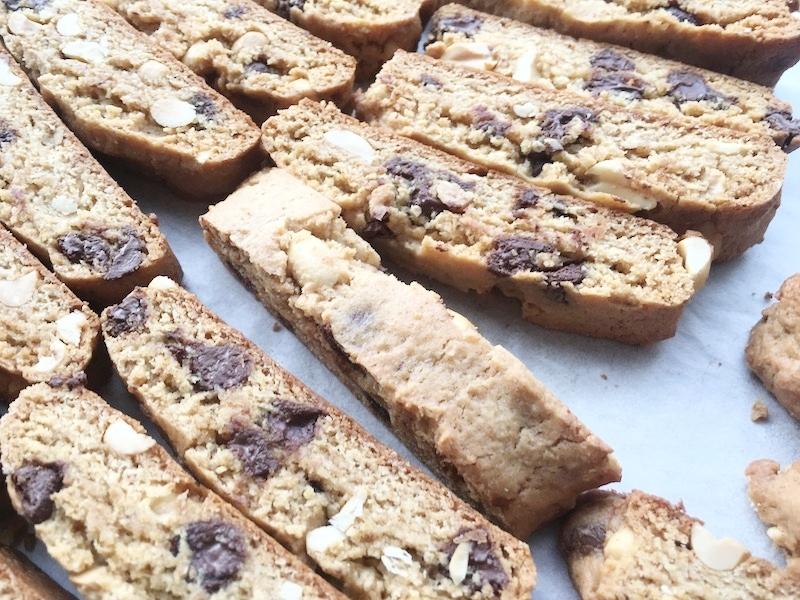 PB & Honey biscotti