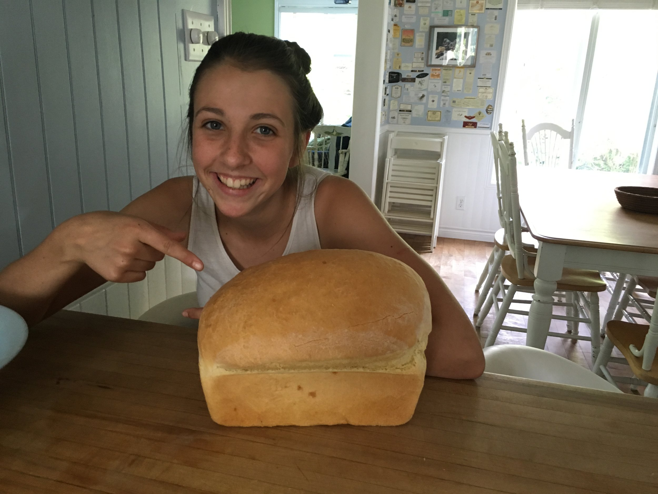 My Niece and Bread for Dhalie