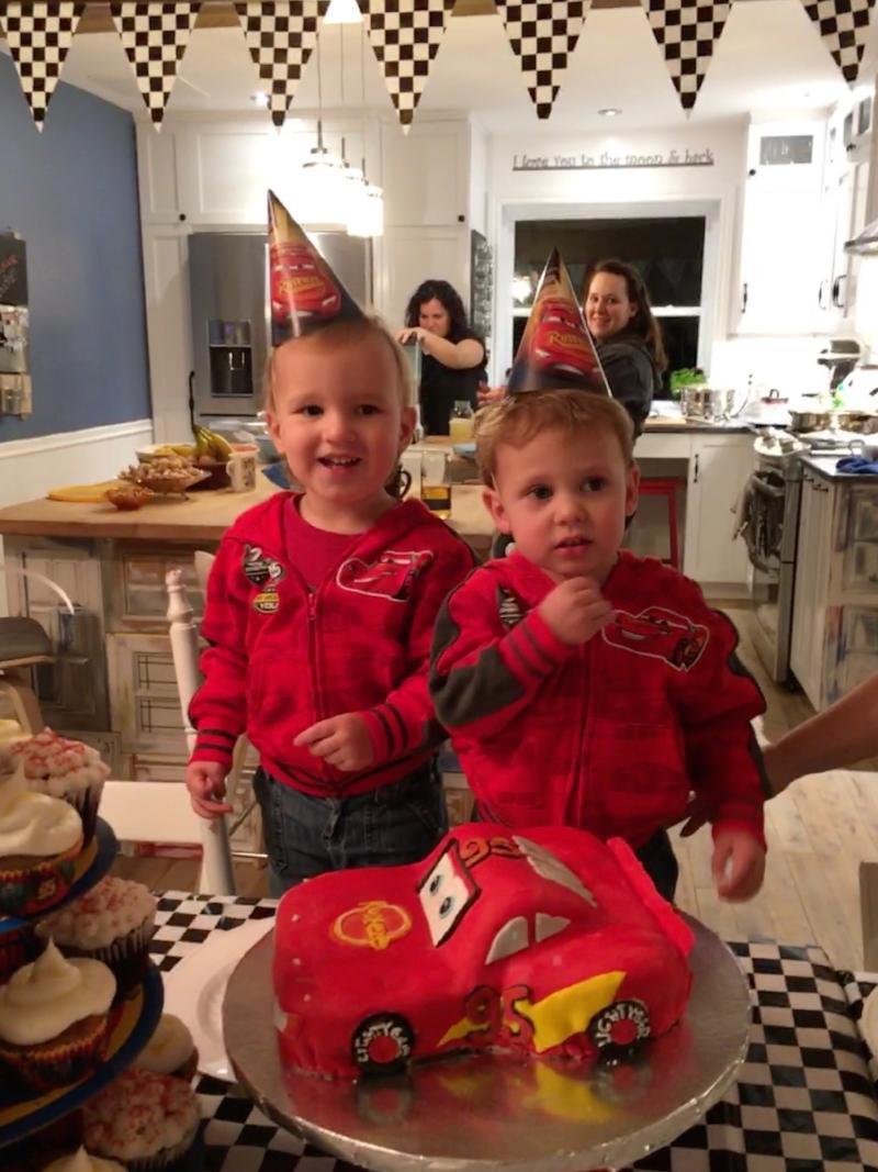 Sillybears Birthday Lightning McQueen Cake