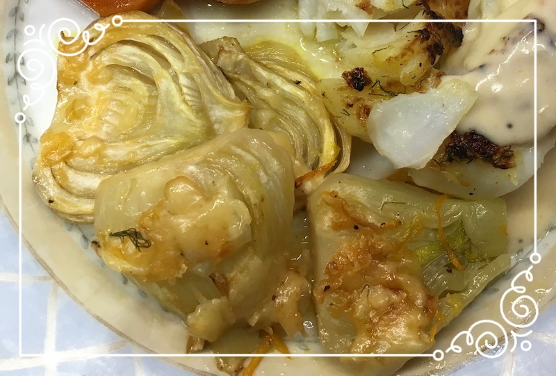 Oven Braised Fennel with Orange