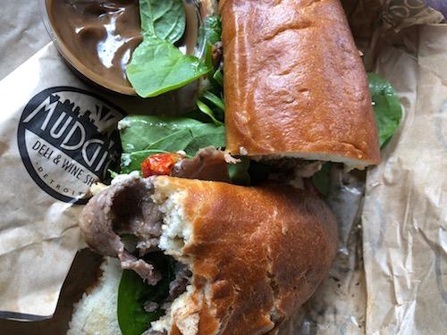 Mudgie's sandwich