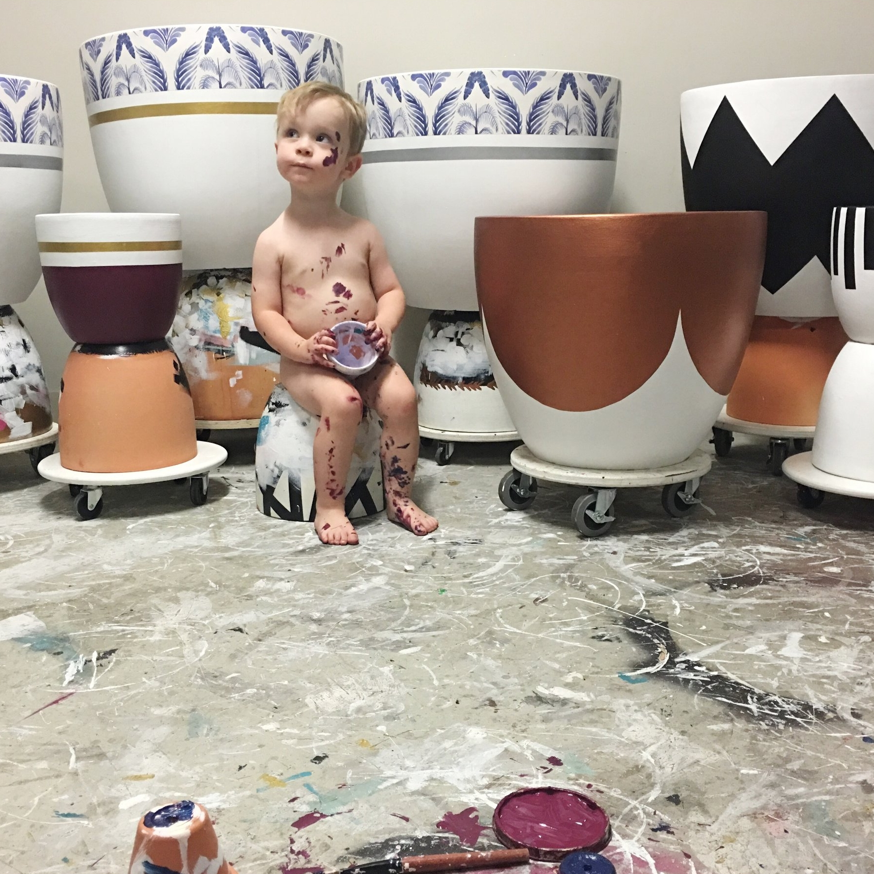 Noah helping in the potting zone .jpg