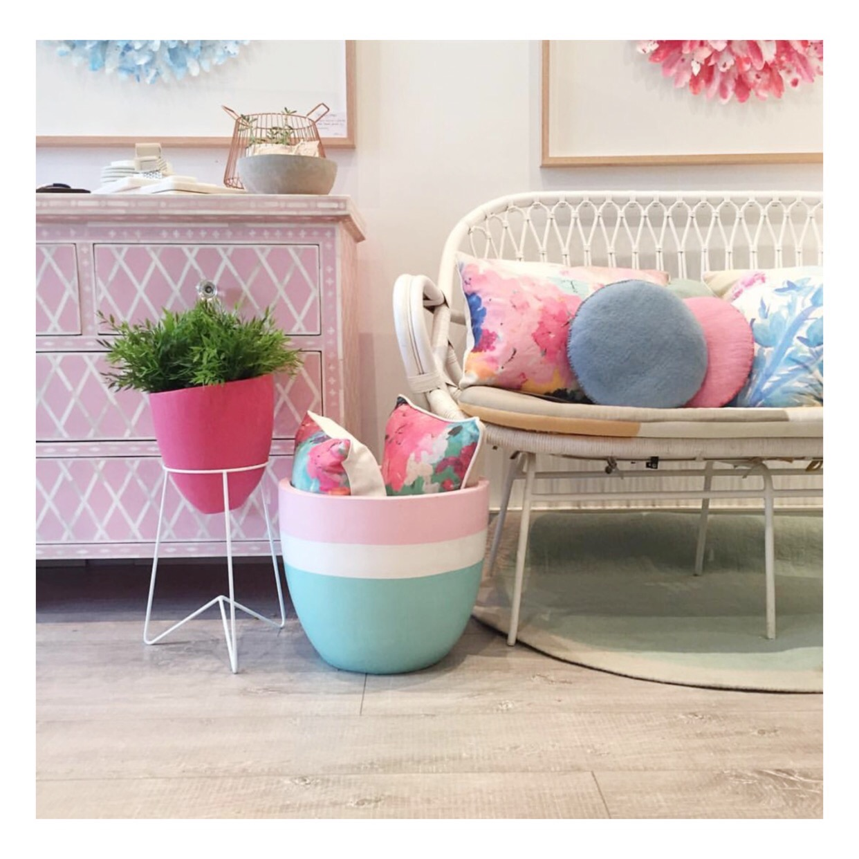 Mint and Pastel Pink Napolean at our stockist Mondocherry.jpg