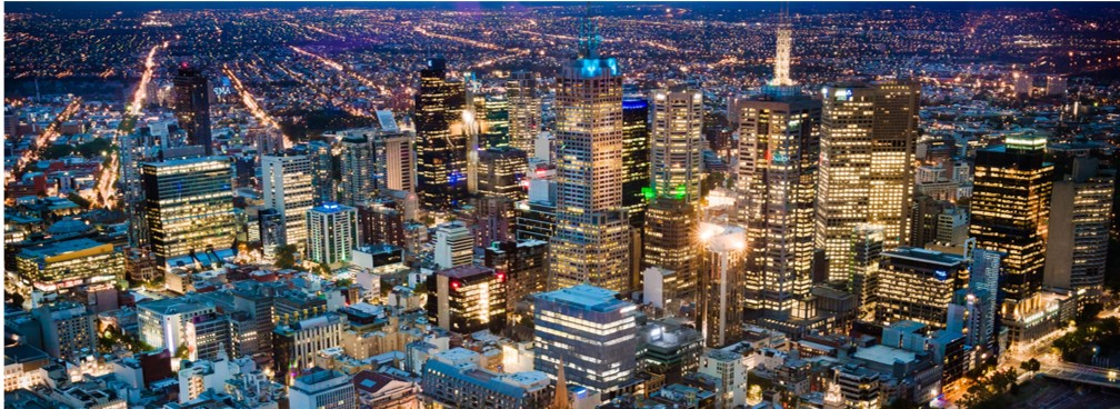 Melbourne city lights - Sharing Minds