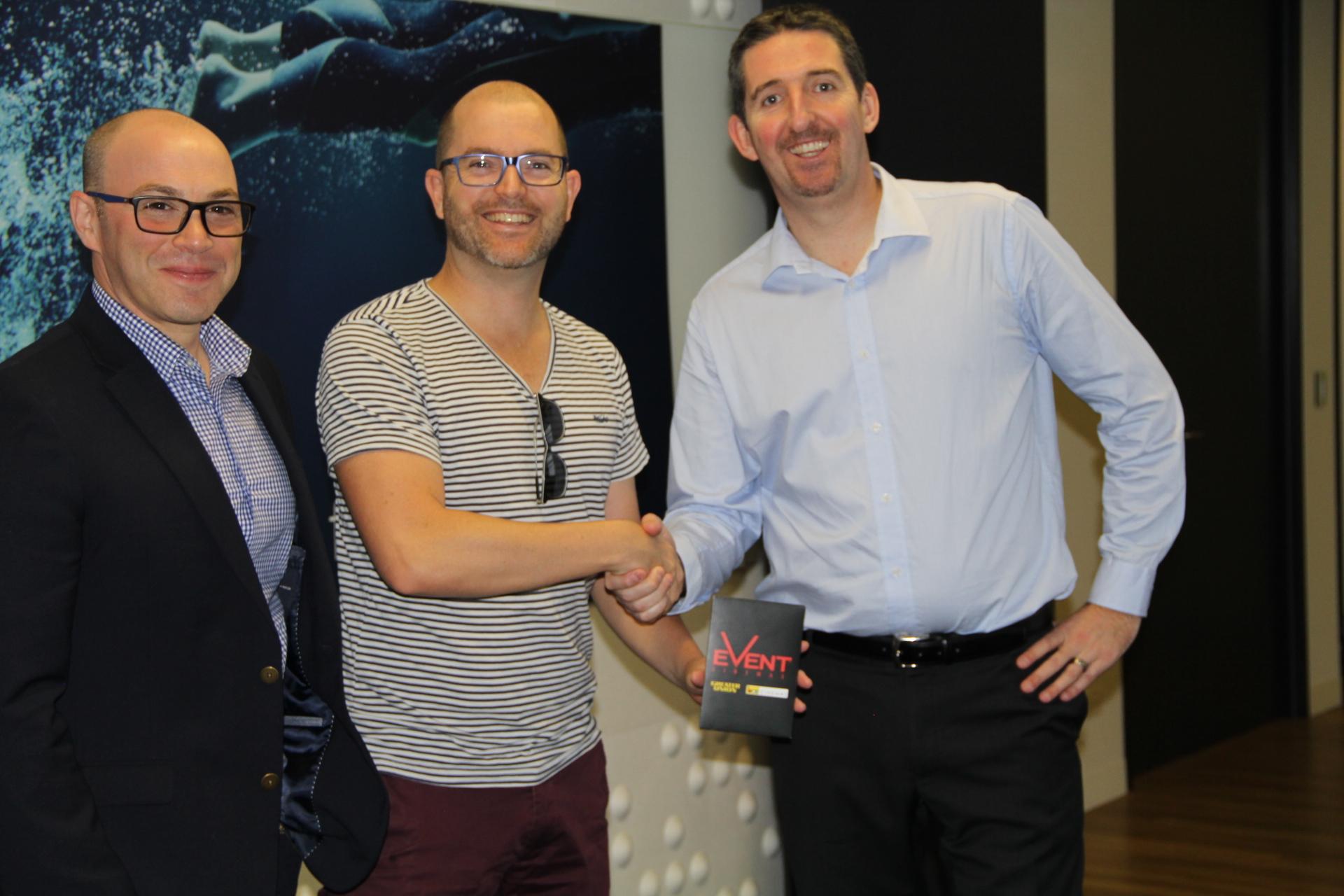 Paul Cullen winner of giveaway
