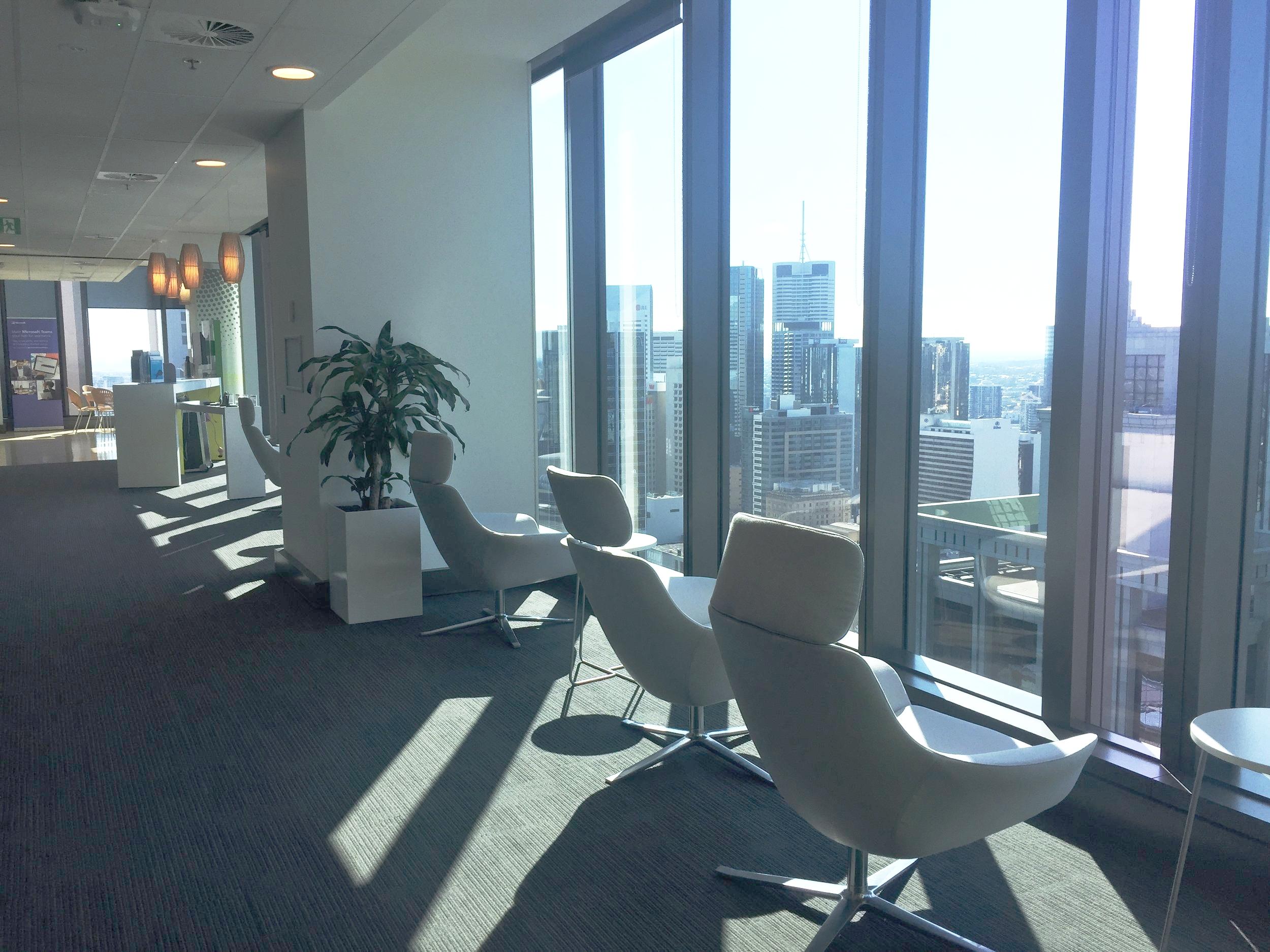 Mornings at Microsoft Brisbane