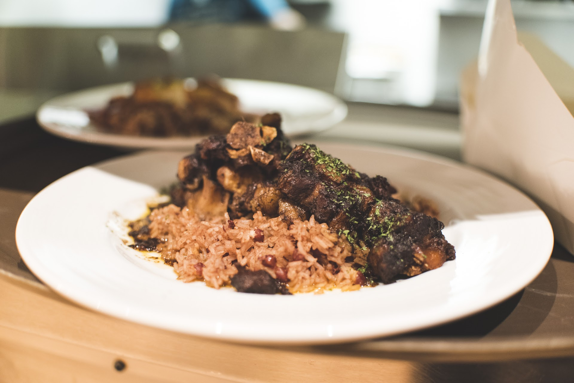 Oxtail, Rice & Peas