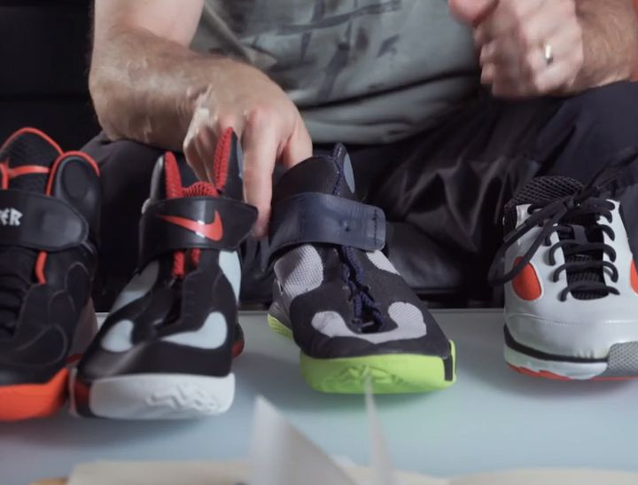 early concepts from the Nike FlyEase Video