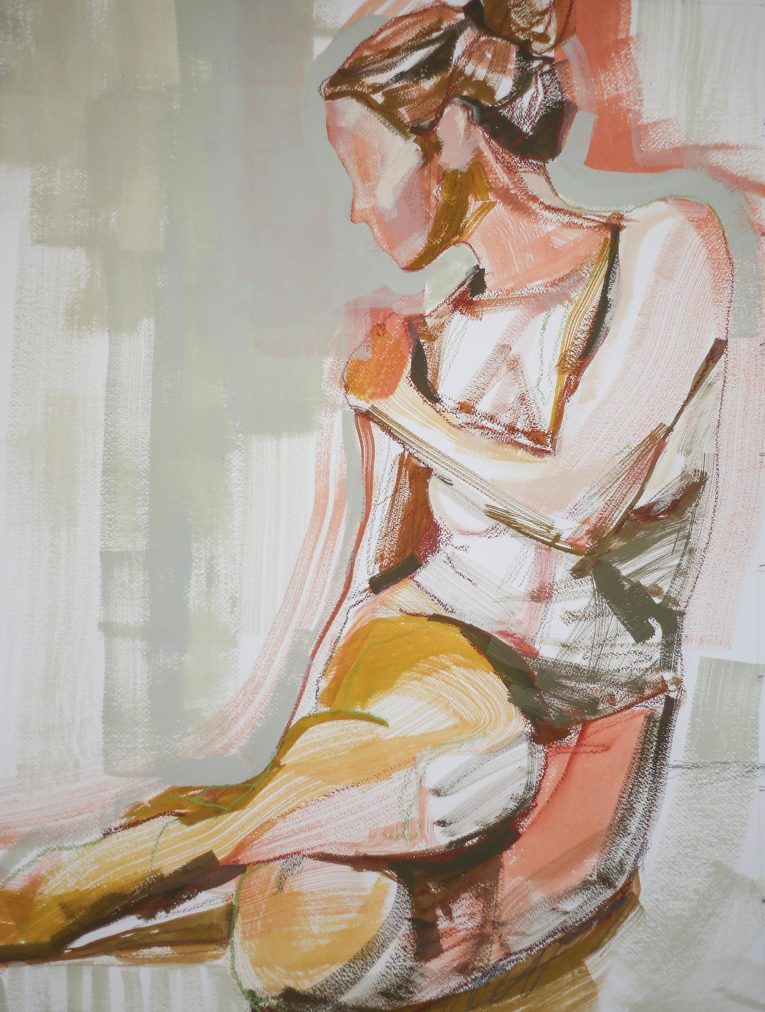 She's Magic 18x24 by Katherine Corden Art