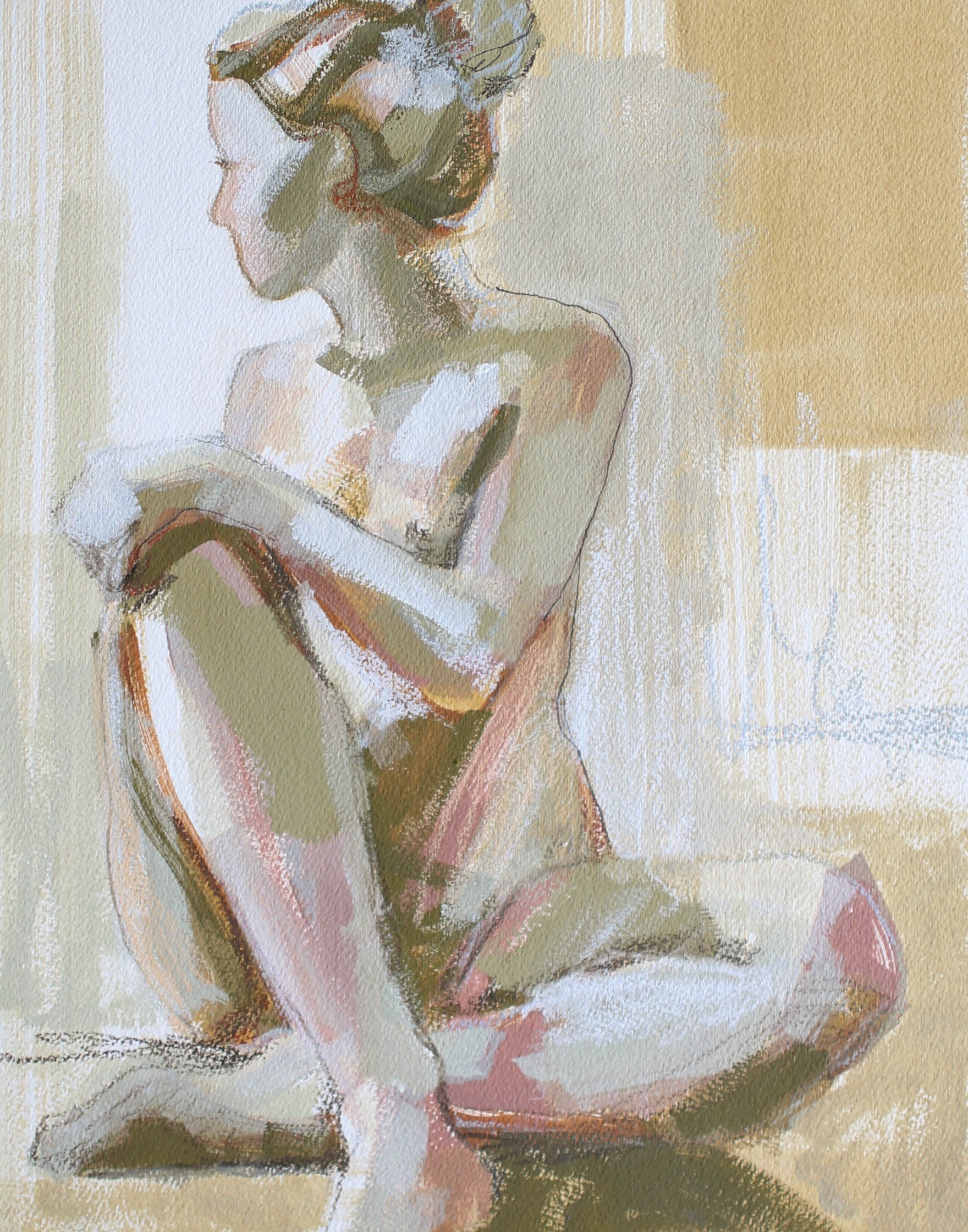 In Her Spirit, 11x14 Katherine Corden Art