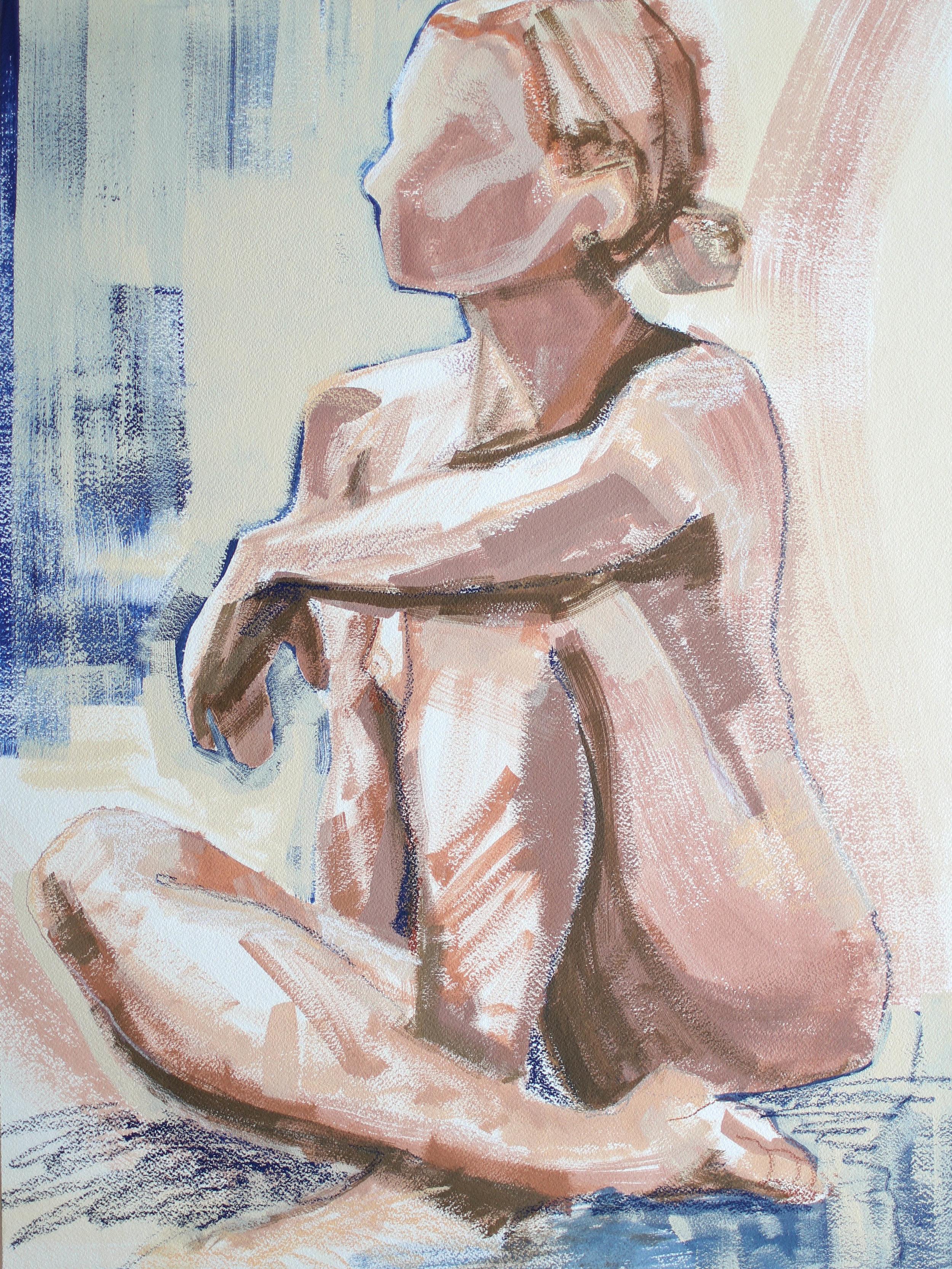Healing Waves, 18x24 Katherine Corden Art