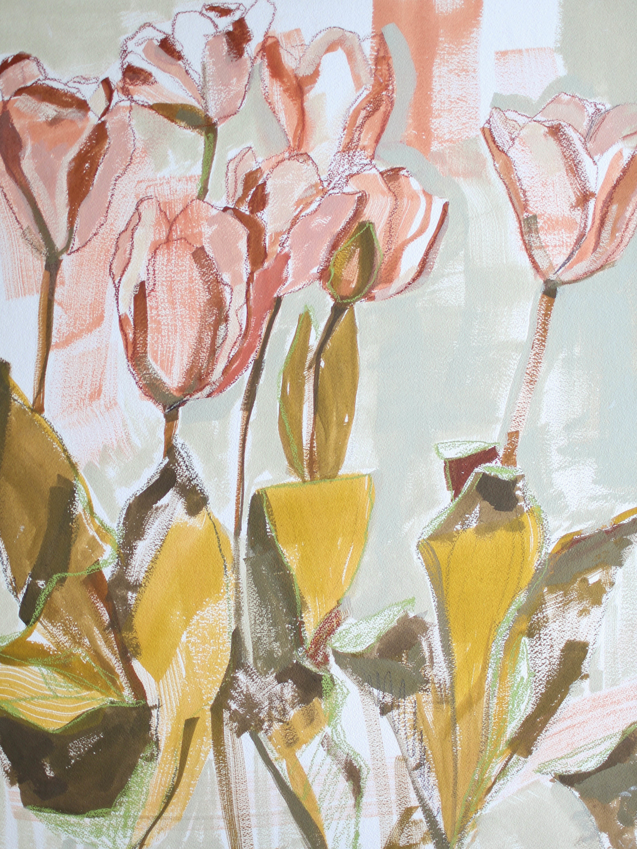 Tulips for Kalin, 18x24 Katherine Corden Art