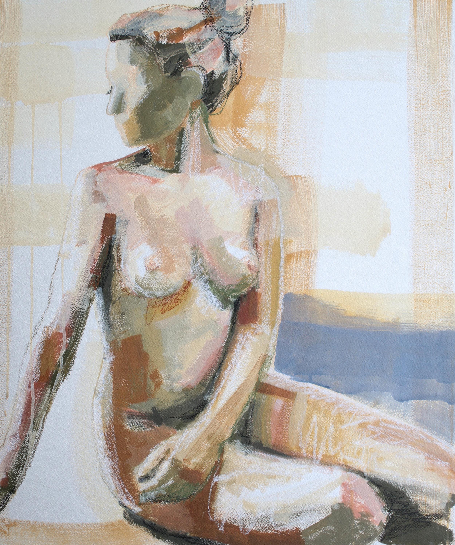 In Her Elements, 20x24 Katherine Corden Art