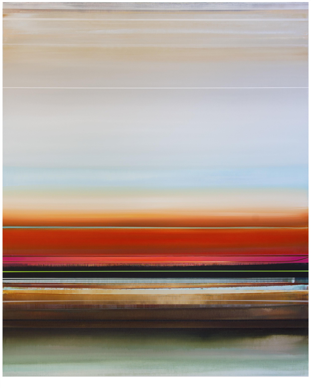 Micah Crandall-Bear, b.1980 (USA)  Title: Strandline  Dimension: 152.40 x 121.92 cm  Year: 2017