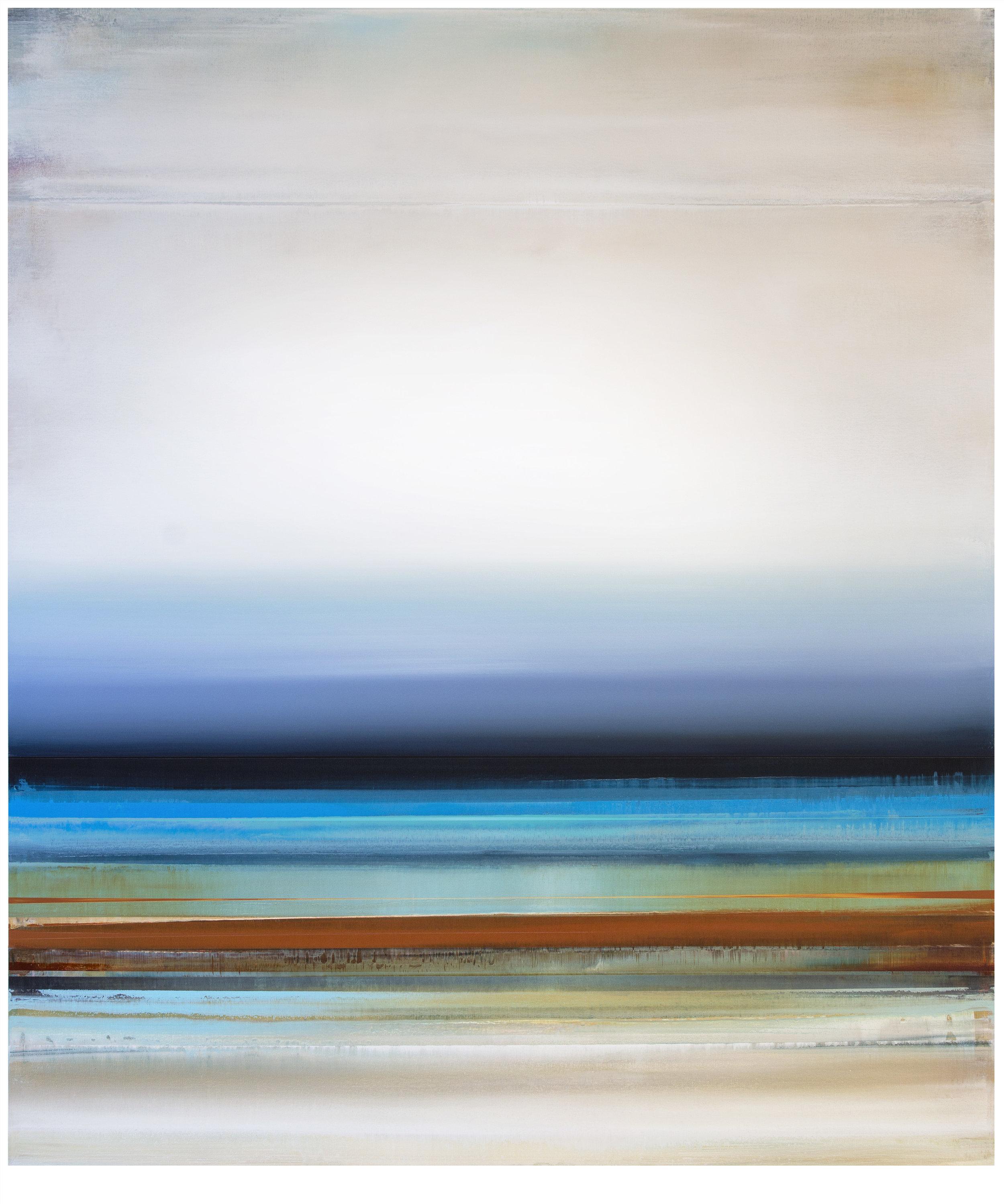 Micah Crandall-Bear, b.1980 (USA)  Title: Carnelian  Dimension: 152.56 x 121.92 cm  Year: 2017