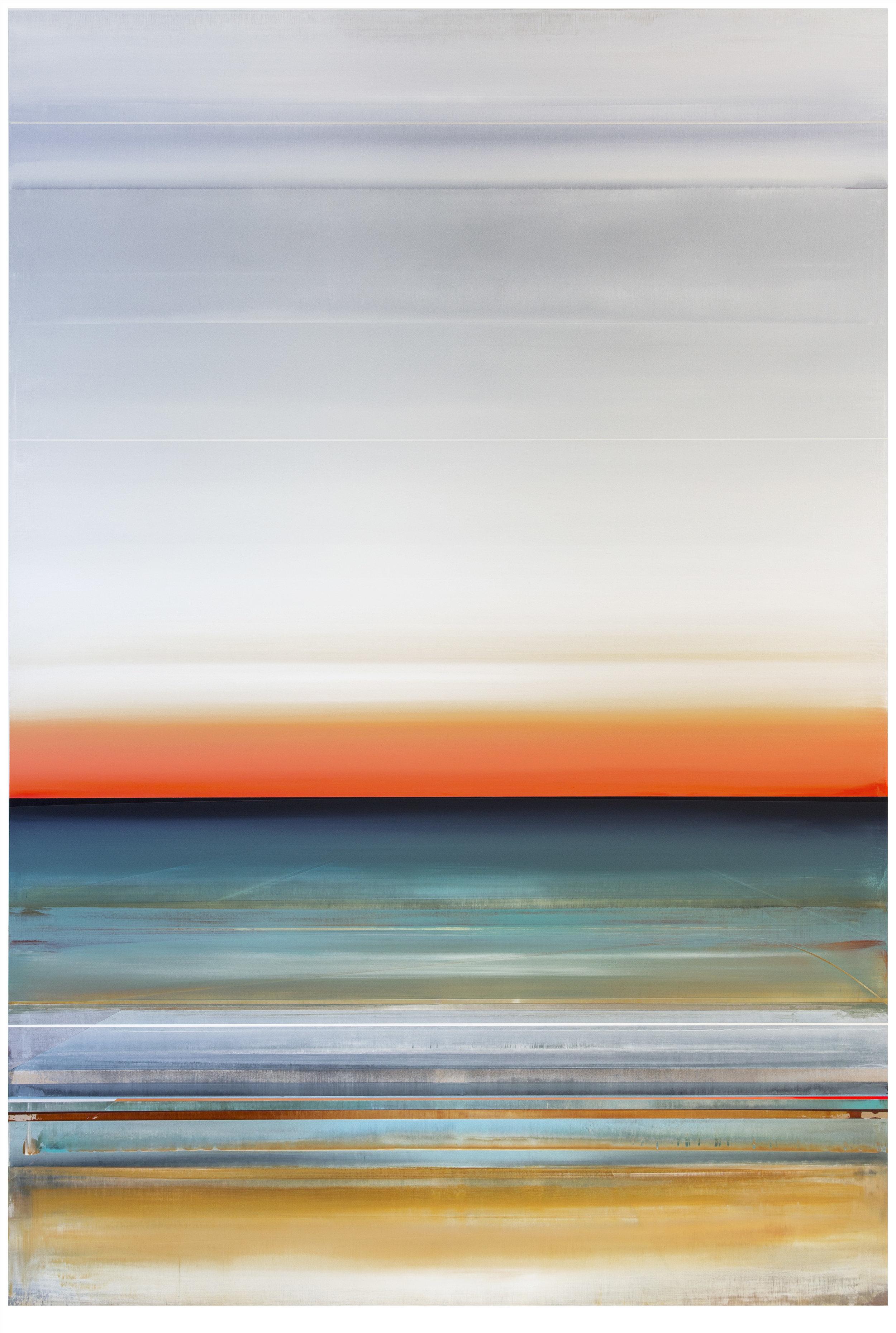 Micah Crandall-Bear, b.1980 (USA)  Title: Axiom  Dimension: 182.88 x 121.92 cm  Year: 2017