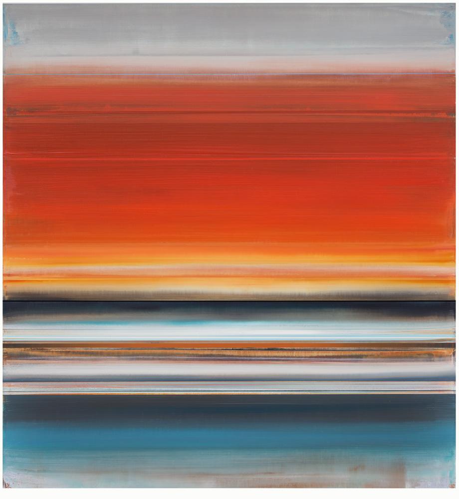 Artist: Micah Crandall-Bear, USA  Title: Kykeon Medium: acrylic on canvas  Dimension: 200 cm x 183 cm Year: 2017   SOLD