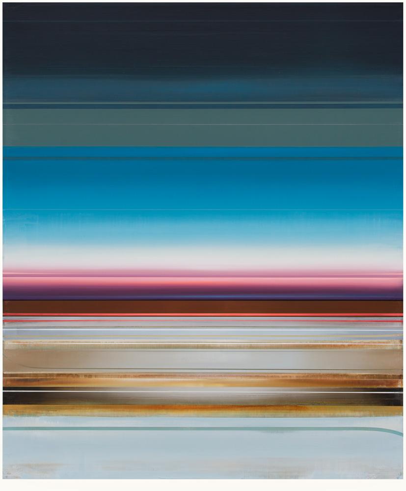 Artist: Micah Crandall-Bear, USA  Title: Nadine Medium: acrylic on canvas  Dimension: 183 cm x 152 cm Year: 2017   SOLD