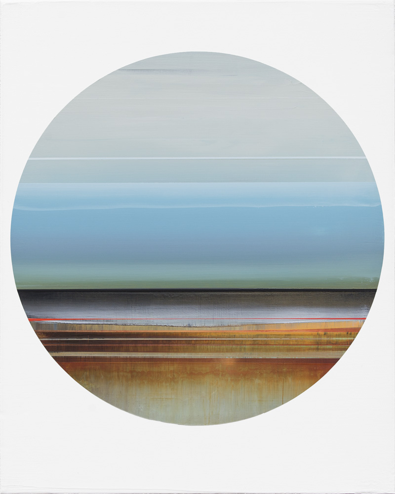 Artist: Micah Crandall-Bear, USA  Title: Passenger 1 Medium: acrylic on canvas  Dimension: 50 cm x 40 cm Year: 2017   SOLD