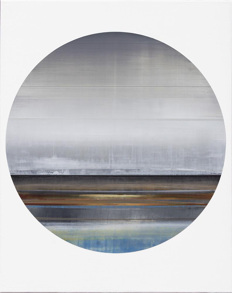 Artist: Micah Crandall-Bear, USA  Title: Passenger 3 Medium: acrylic on canvas  Dimension: 50 cm x 40 cm Year: 2017   SOLD