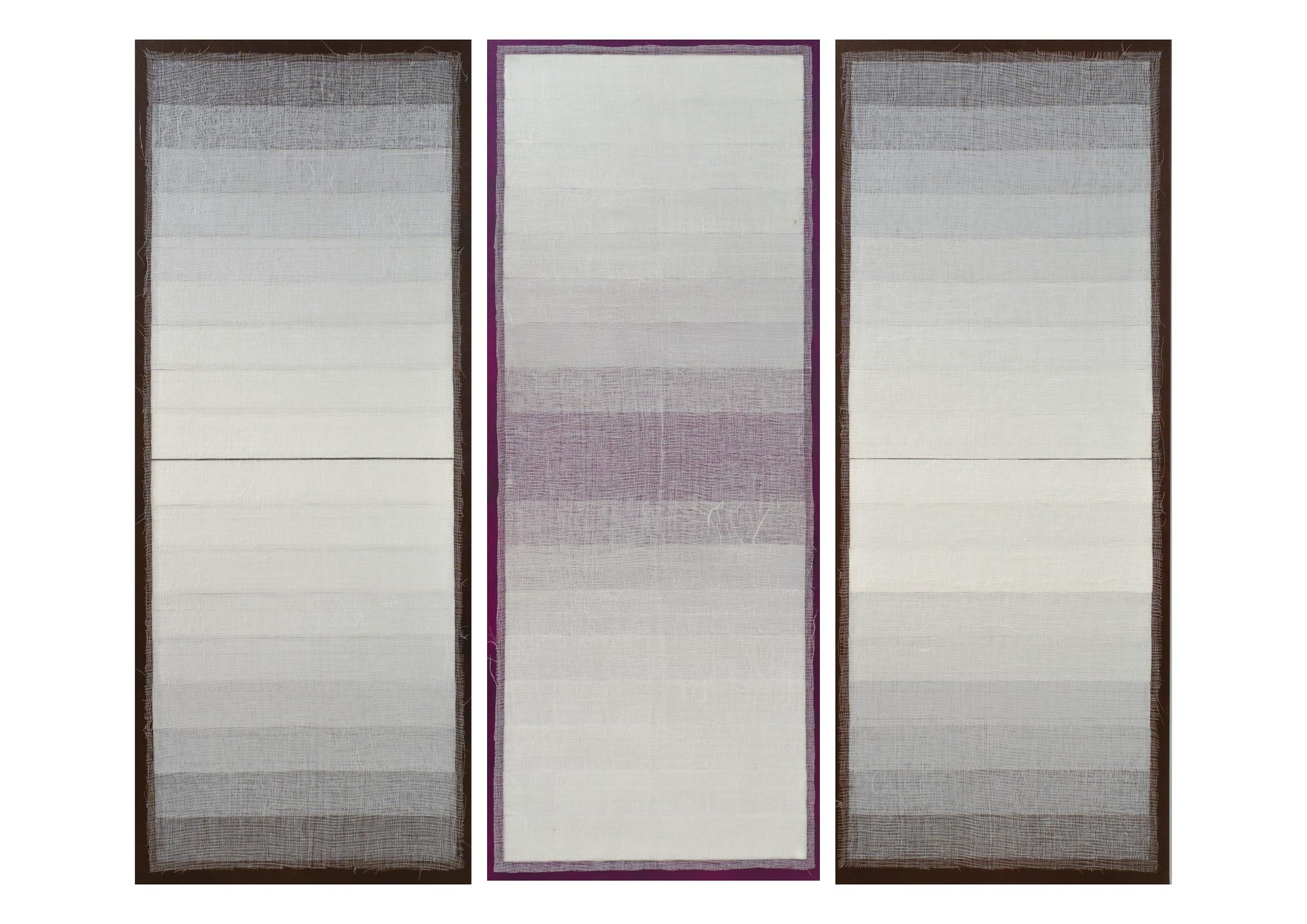 Artist: SAIFUL RAZMAN, MALAYSIA  Title: Forever Medium: acrylic on canvas  Dimension: 190 X 228 cm (triptych) Year: 2019