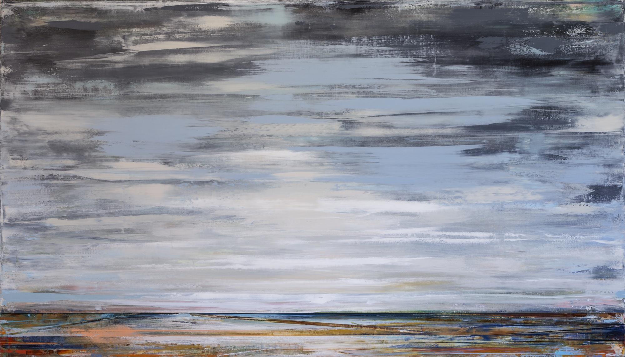Artist: Micah Crandall-Bear, USA  Title: DILLON Medium: acrylic on canvas  Dimension: 122 X 213 cm Year: 2019    SOLD