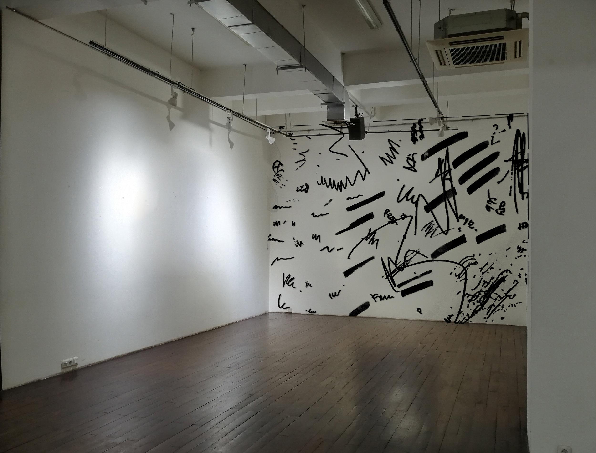 Artist: Erwin Windu Pranata, Indonesia  Title: Neglected Burst Medium: polyurethane paint on plywood Dimension: variable dimensions Year: 2019