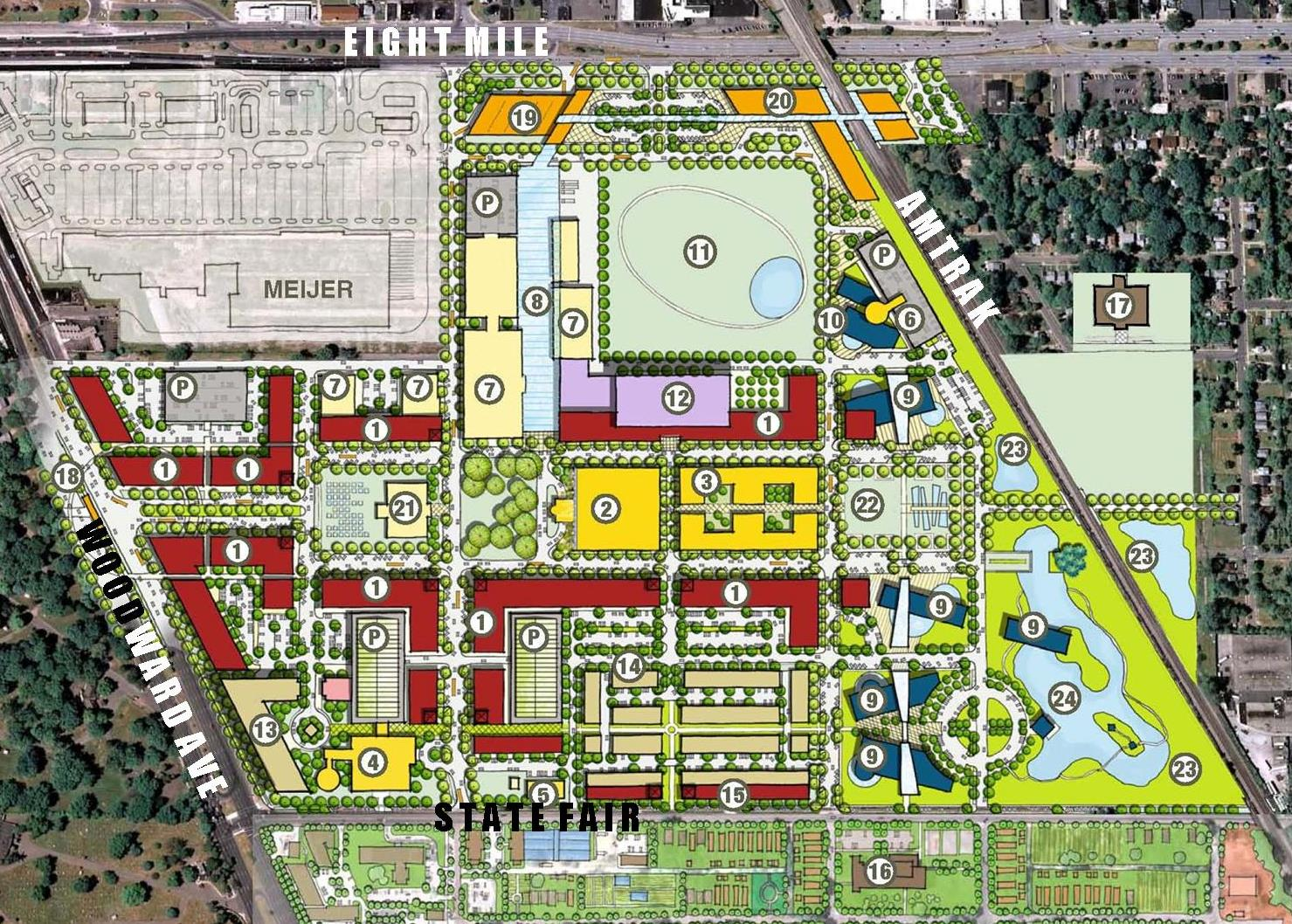 Destinations conceived for the Michigan State Fairgrounds by METAexpo