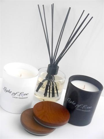 Light of Love Candles and Reed Diffusers