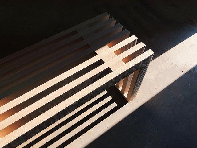 Morning light, meet Sonora bench. #callumeastdesign