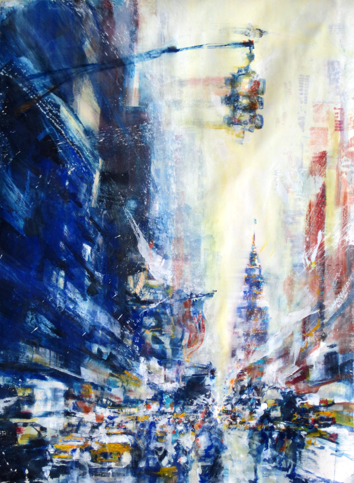 emerging  nyc 151 by 113cm