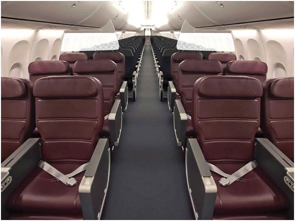QANTAS 737 Business Class (photo from QANTAS website)