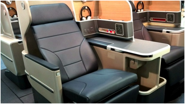 QANTAS A330 Business Class (photo from QANTAS website)