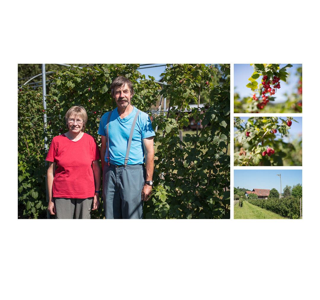Landwerker & Gaumenfreunde  wo die Schlosshalde einkauft  Portraits von Produzenten für das  Gasthaus Schlosshalde      Martha & Hanspeter Maurer, Oberstammheim