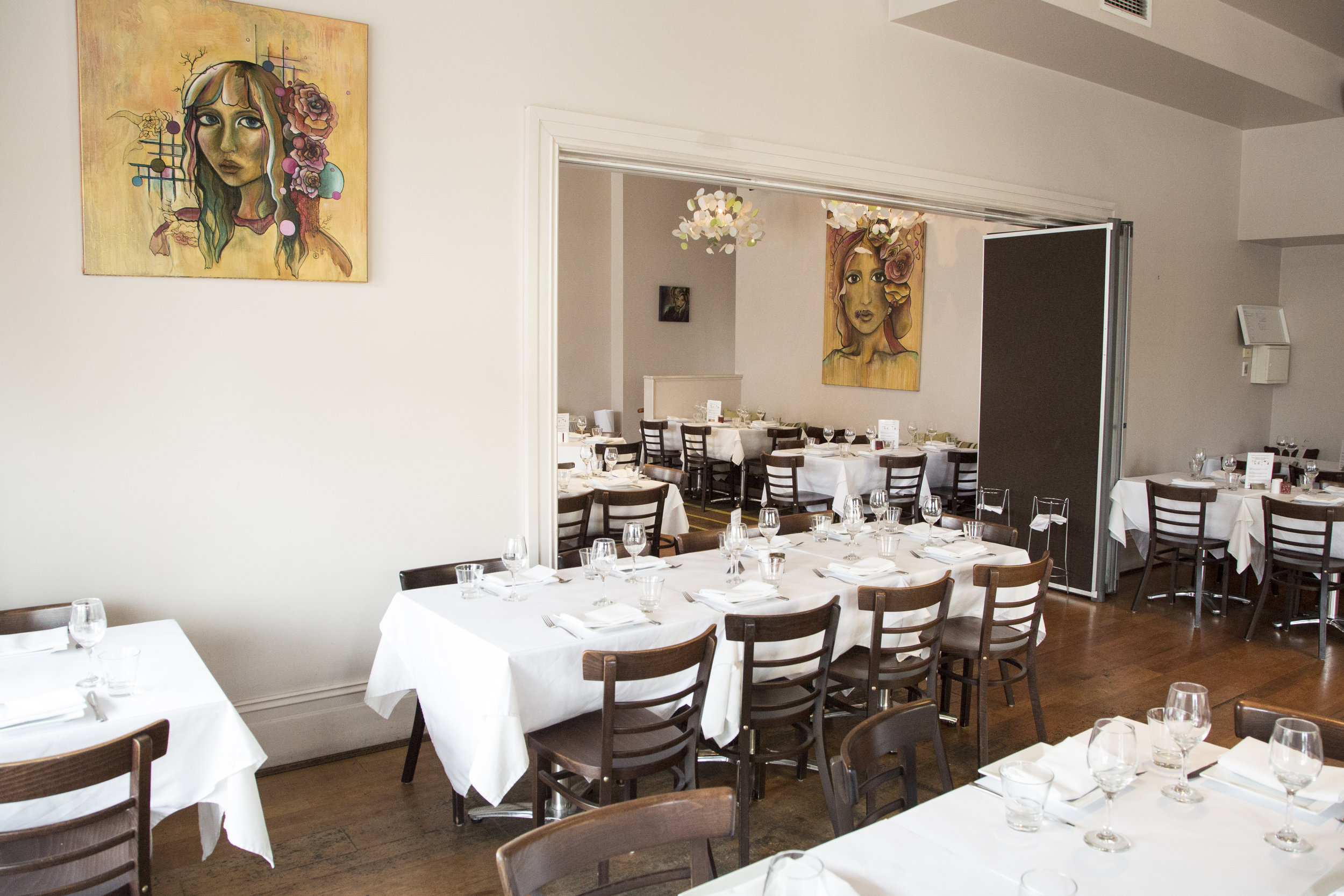 Rubyos Restaurant Front Room