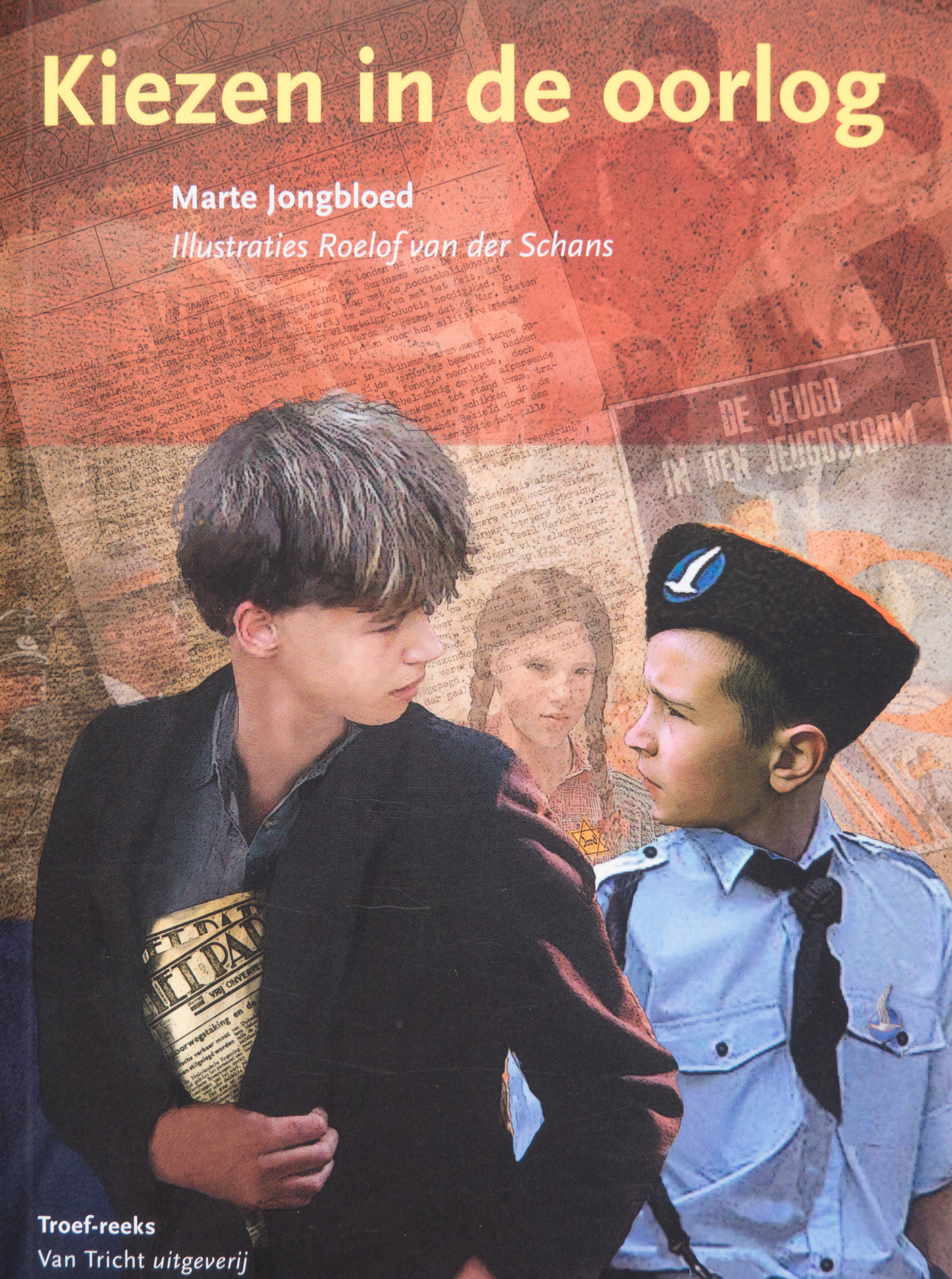 In mei 1940 wordt Nederland bezet door de Duitsers. Ineens is het oorlog. Gijs vindt het allemaal wel spannend. Maar al gauw zorgt de oorlog ook voor ruzie in huis. De vader van Gijs is lid van de NSB. Hij bewondert Hitler. De broer van Gijs, Teun, is juist fel tégen de Duitsers. Gijs twijfelt. Wie heeft er gelijk? Zijn vader of zijn broer? Hoe lang is Gijs' Joodse vriendinnetje Lea nog veilig? Gijs moet kiezen tussen zijn vader en zijn broer. Maar hoe weet je wat 'goed' en 'fout' is in een oorlog? Hoe weet je wie je nog kan vertrouwen?