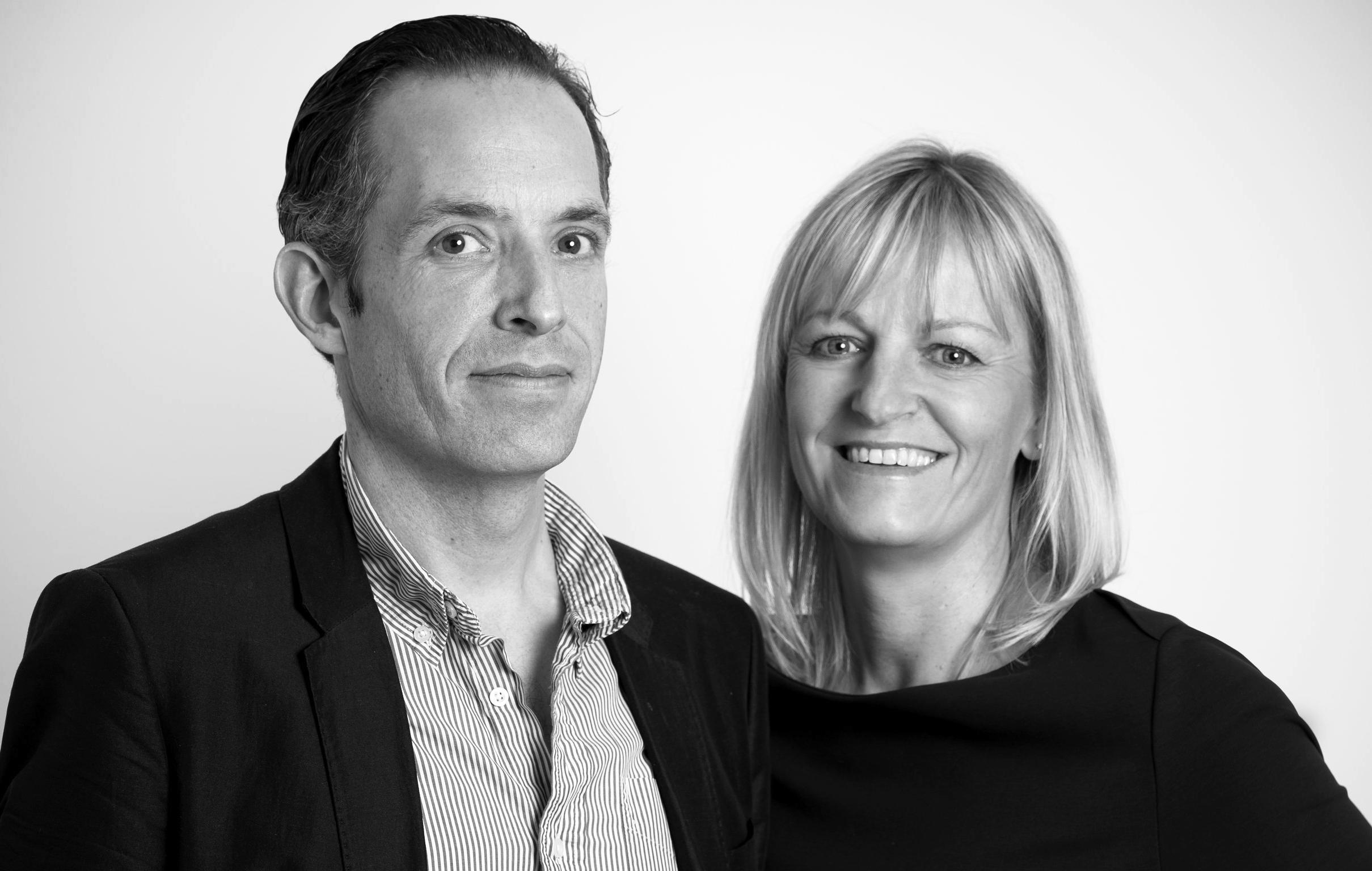 Unternehmensgründer Michael Vogt und Susanne Fischer