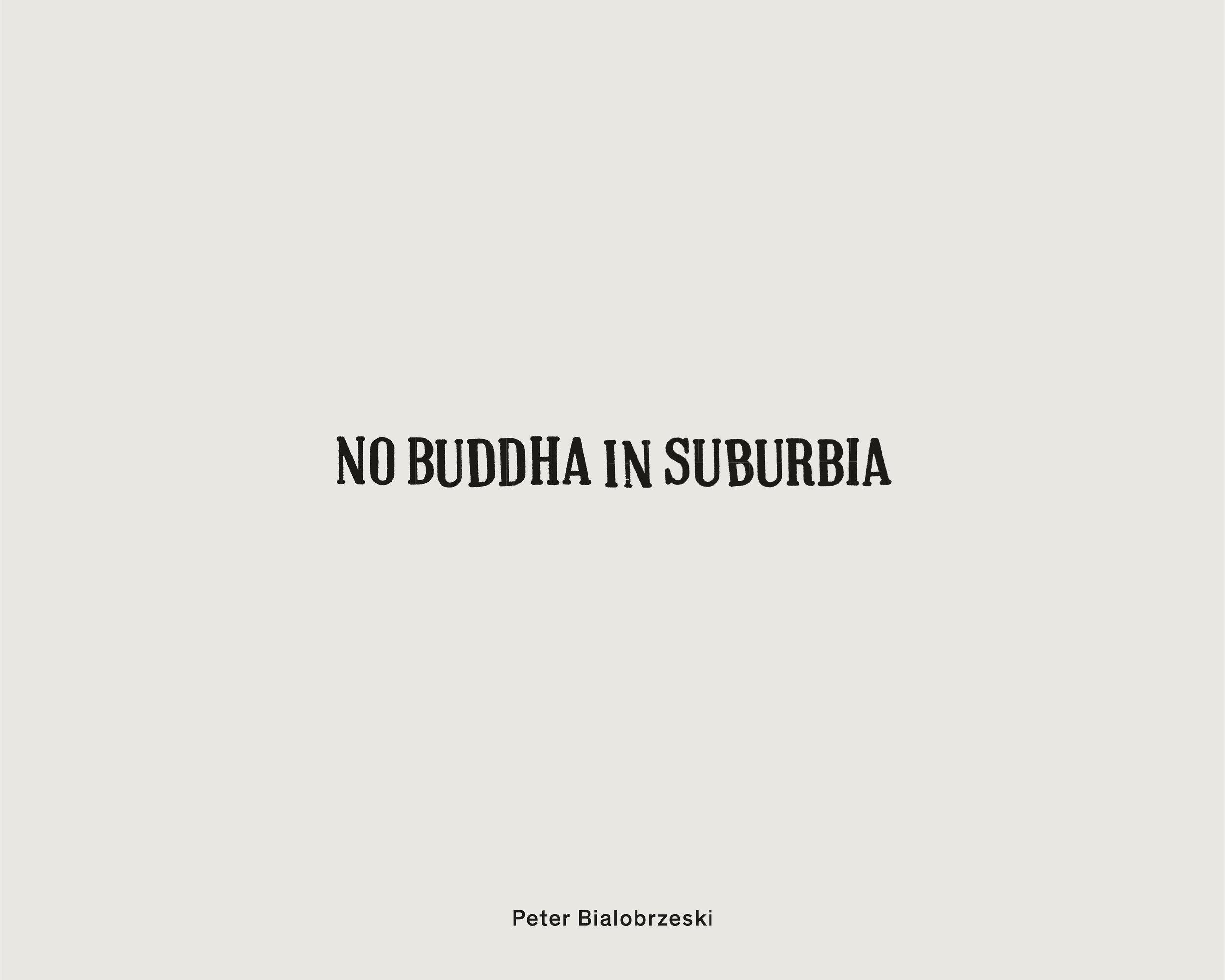 Peter Bialobrzeski NoBuddha in Suburbia Cover.jpg