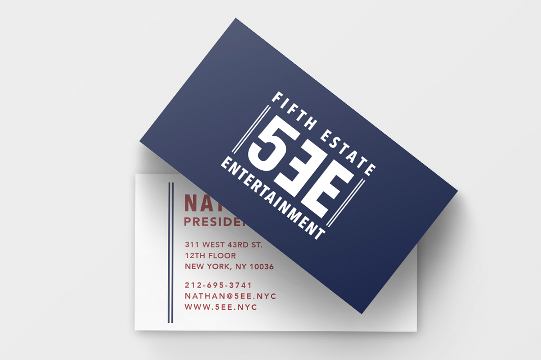 Logo Design - 5th Estate Entertainment