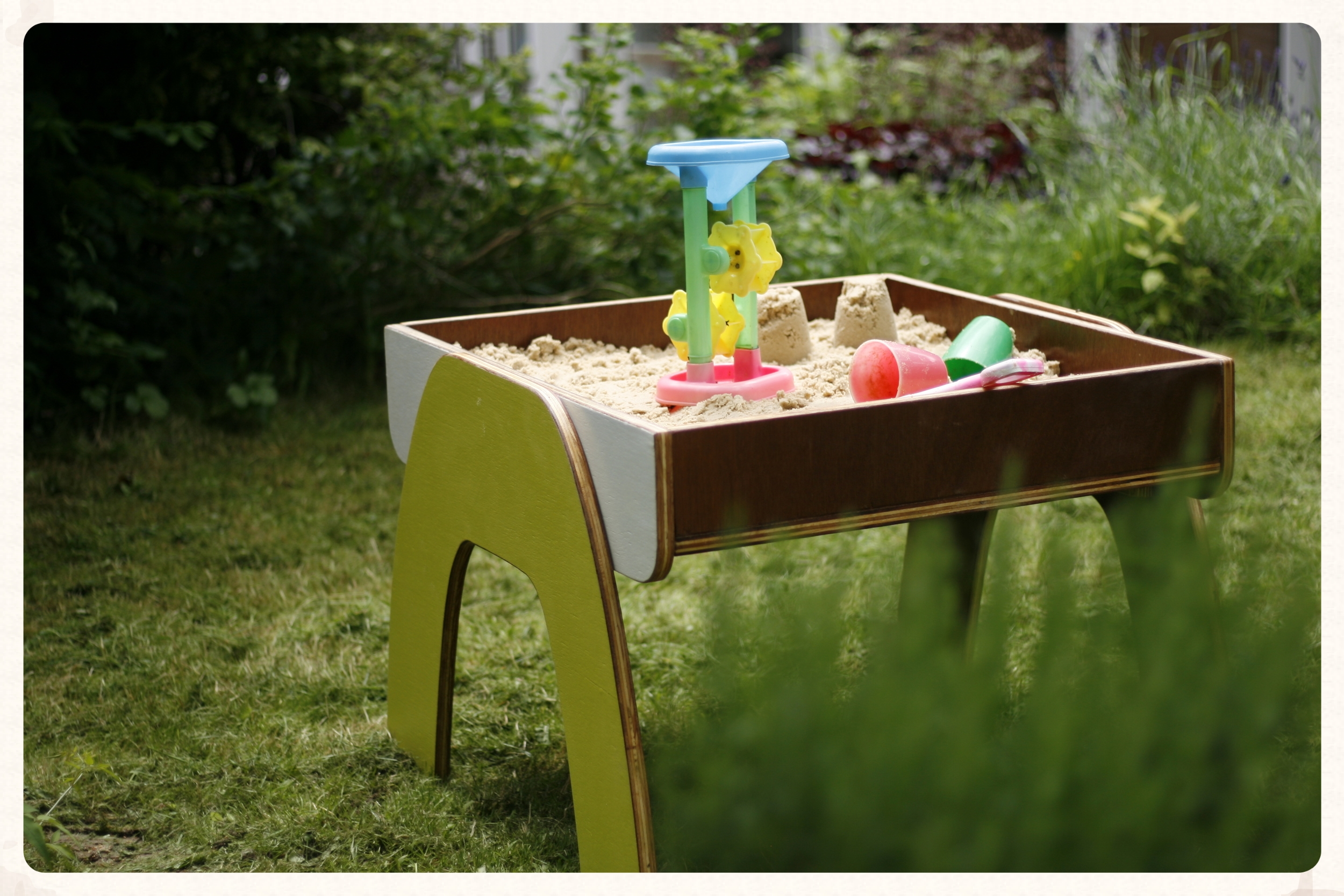 Kids Wooden Sand Table Scout Fable