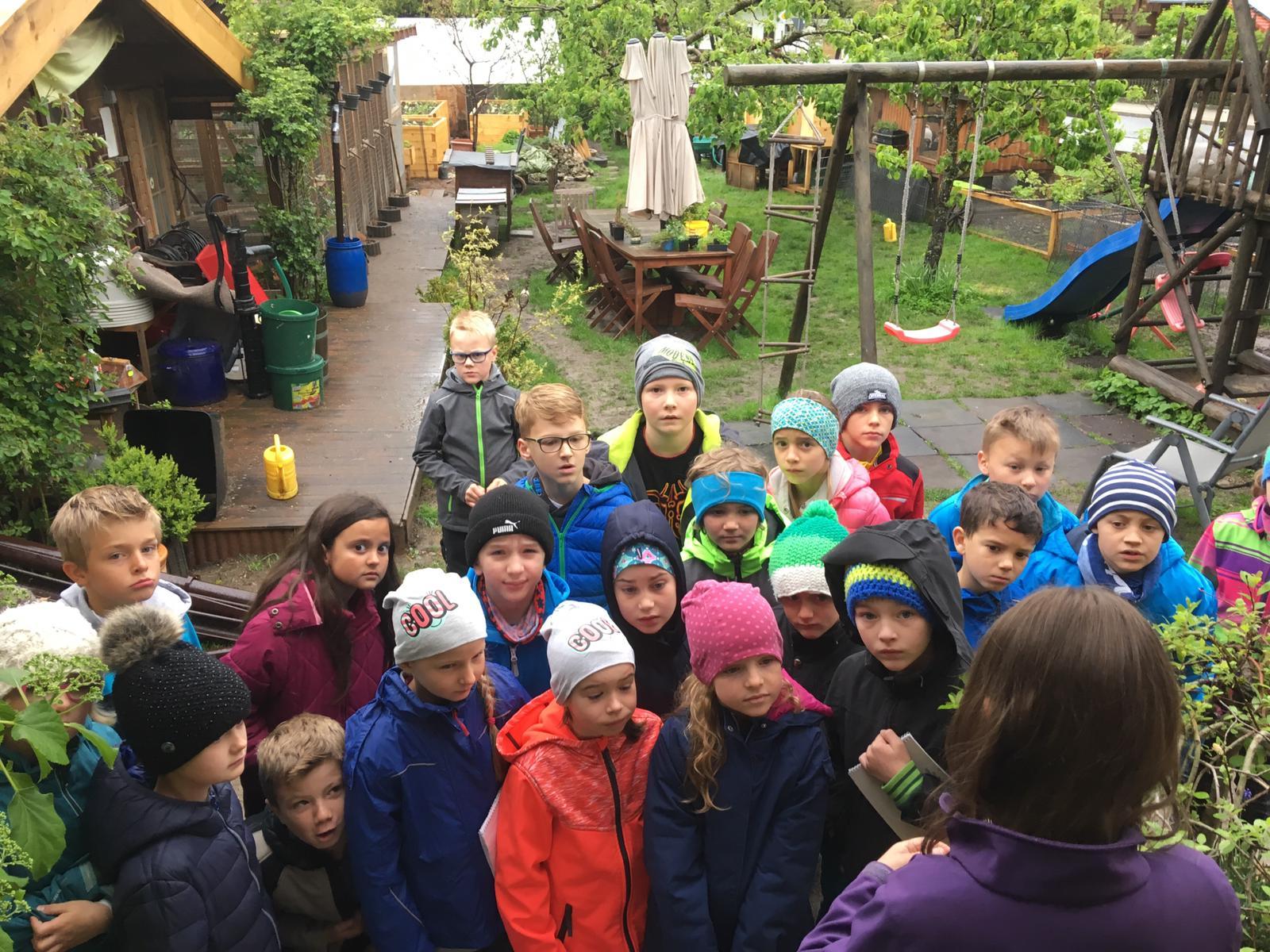 Die Klasse 2a der Grundschule Waakirchen