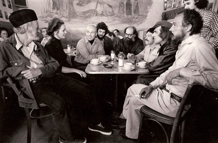 Allen Ginsberg, Jack Kerouac and the rest of the Beat Generation.