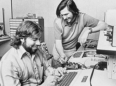 Ignorance is a bliss, Wozniak and Jobs bonding in their Menlo Park garage in the 70s.