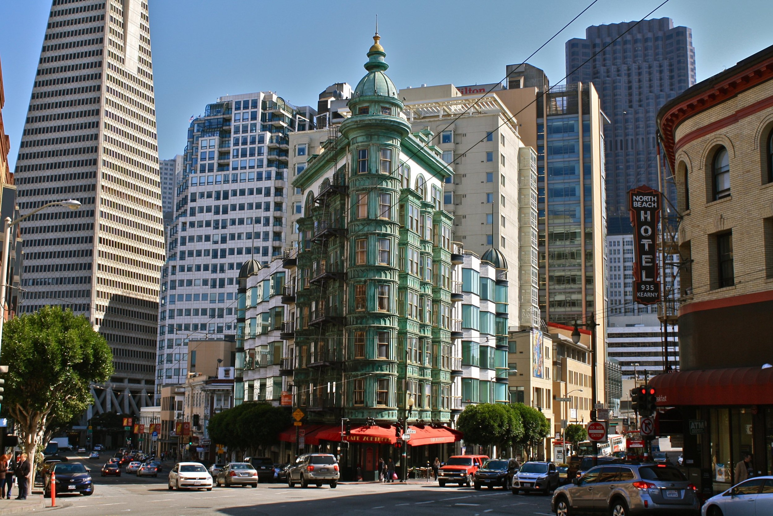 Financial District in Central San Francisco.